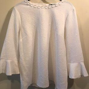Karl Lagerfeld white blouse